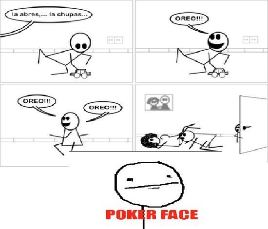 Pokerface - Oreos