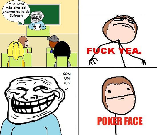 Pokerface - Profesor Troll