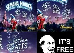 Enlace a Niños gratis a Disneyland