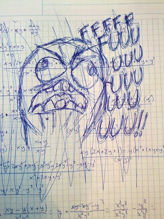 Ffffuuuuuuuuuu - Todos los cálculos a la mierda