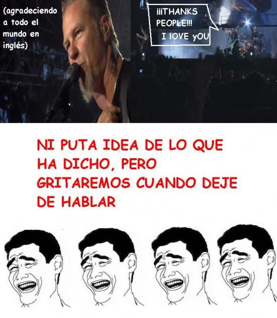 Yao - Concierto de Metallica