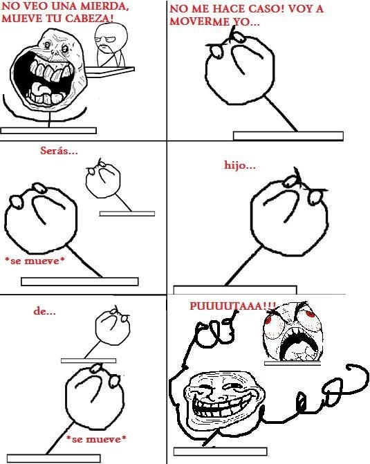 Ffffuuuuuuuuuu - Típico alumno troll cuando intentas copiar algo en clase