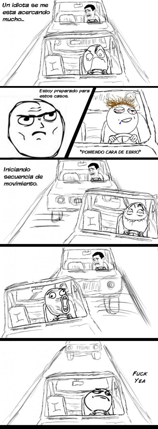 coche,Ebrio,Fuck yea