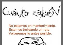 Enlace a Troll mantenimiento