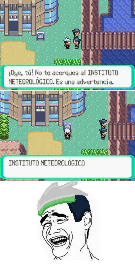 Yao - No te acerques al instituto meteorológico