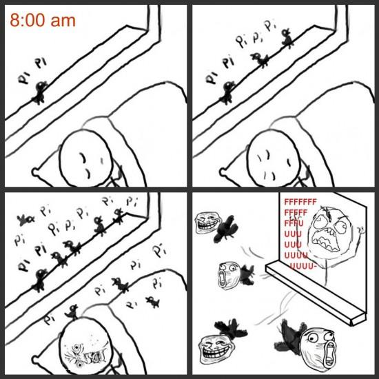 Ffffuuuuuuuuuu - Despertador sin pilas