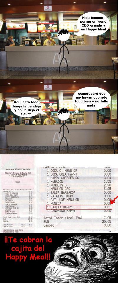 Inglip - Cajita del Happy Meal