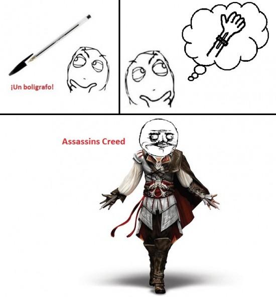assassins,bolígrafo,creed