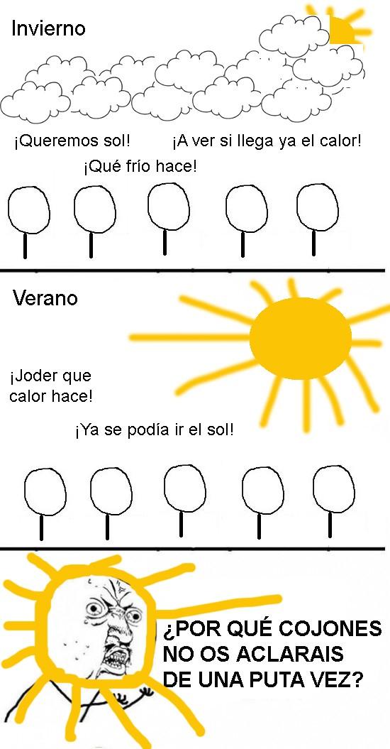 calor,frío,sol,tiempo