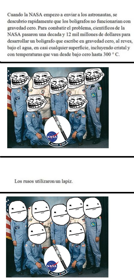 Pokerface - Owneando a la NASA