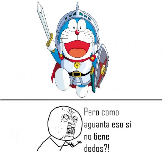 Y_u_no - Dedos de Doraemon