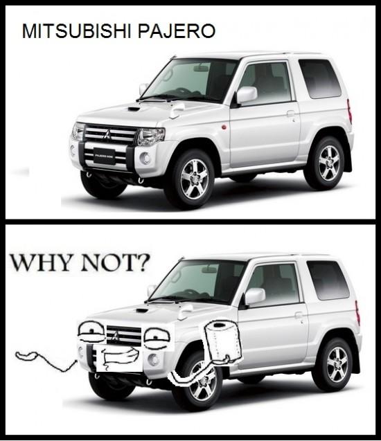 Why_not - Mitsubishi Pajero