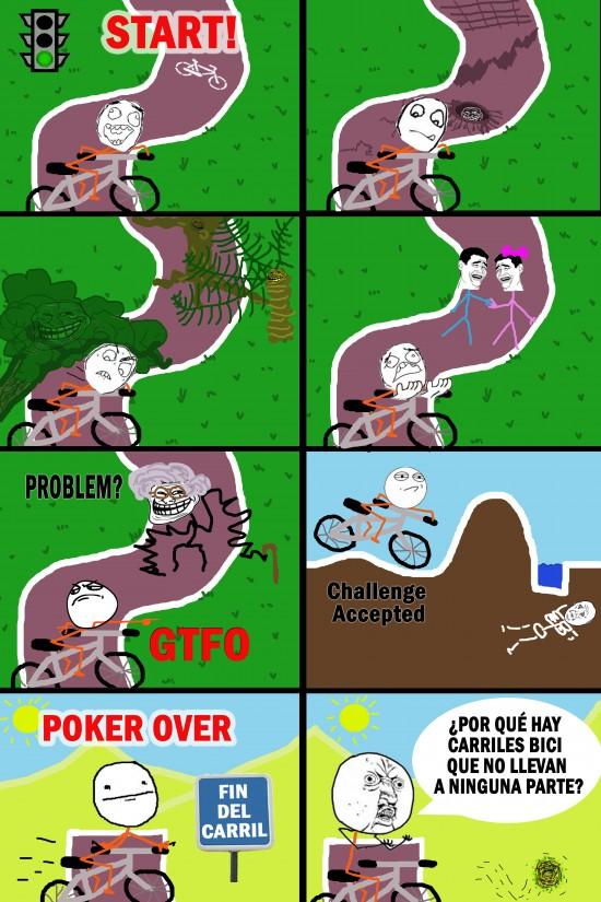 Y_u_no - Carril de bici-obstáculos