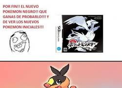 Enlace a Pokemon iniciales de Blanco y Negro...