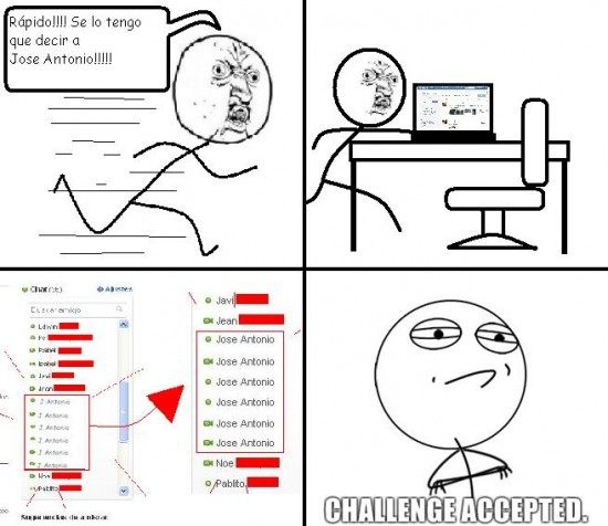 Challenge_accepted - Jose Antonio, Challenge accepted
