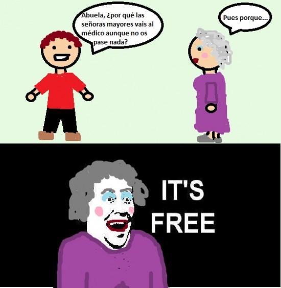 Its_free - ¡Viva la seguridad social!