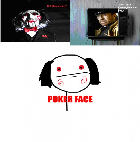 Chuck Norris,Poker Face,Saw