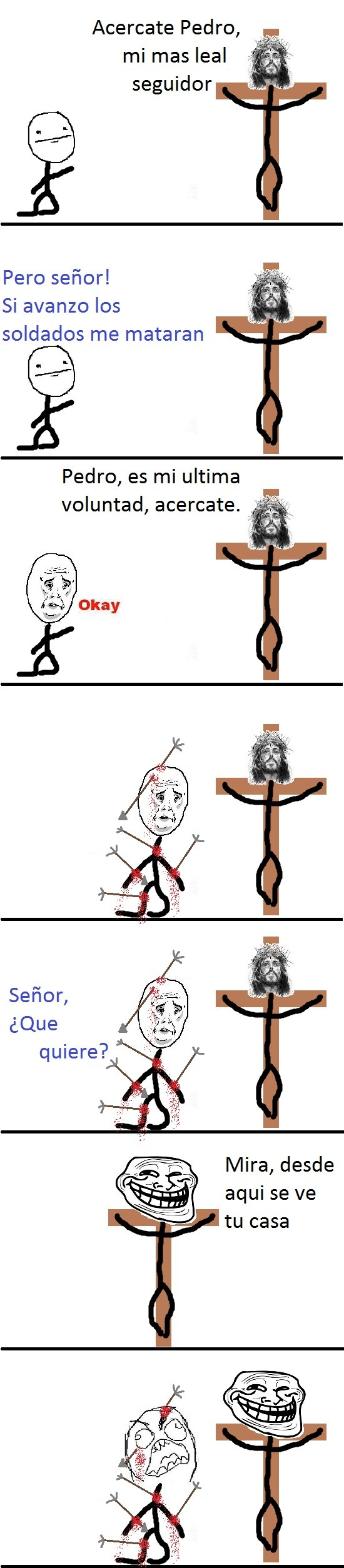 Trollface - Jesucristo