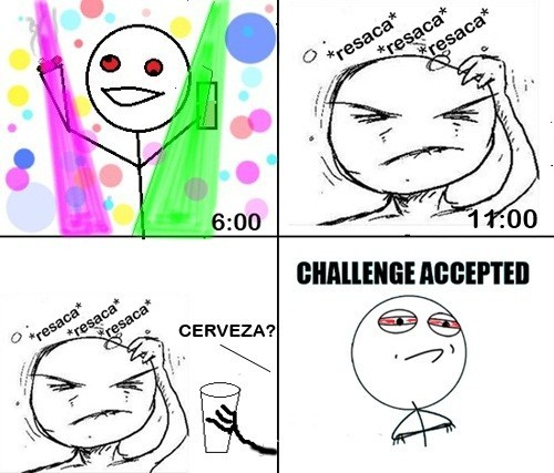 Challenge_accepted - Resaca