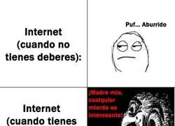 Enlace a Internet