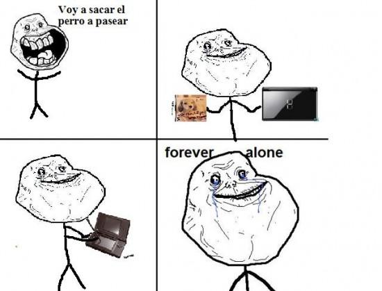 Forever_alone - Forever nintendogs
