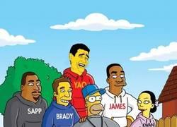 Enlace a Yao en los simpsons