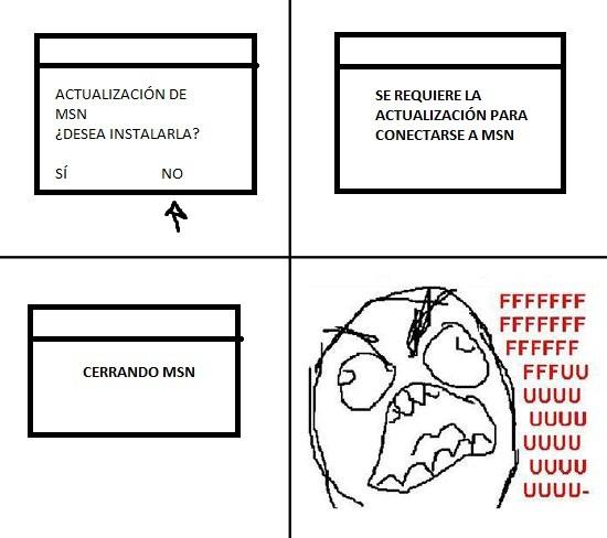 Ffffuuuuuuuuuu - Actualización MSN