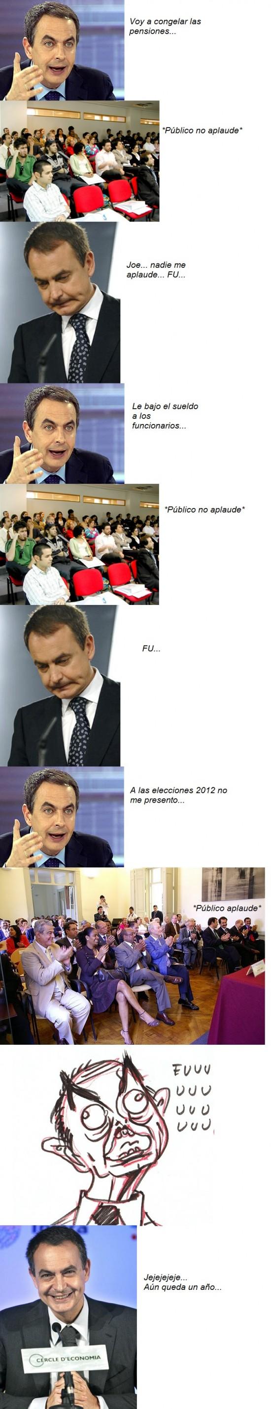 Ffffuuuuuuuuuu - Zapatero FUUU