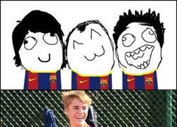 Enlace a Bieber en Barcelona
