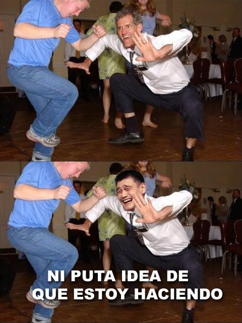 bailando,ni idea,yao ming