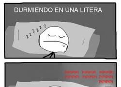 Enlace a Dormir en una litera