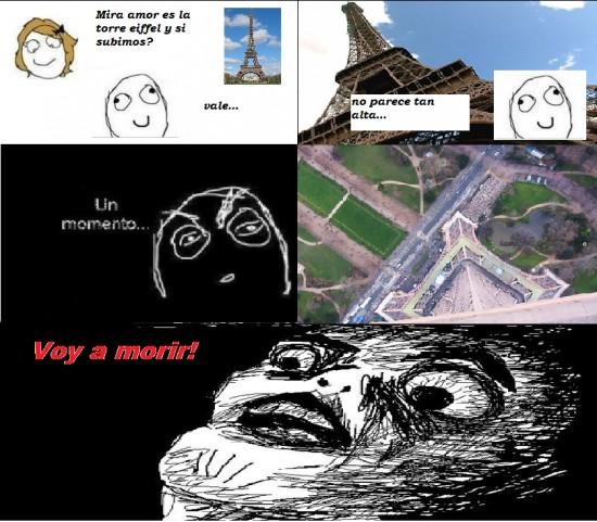 Inglip - En París, la torre Eiffel no es tan alta