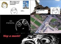 Enlace a En París, la torre Eiffel no es tan alta