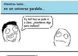 Enlace a Universo paralelo