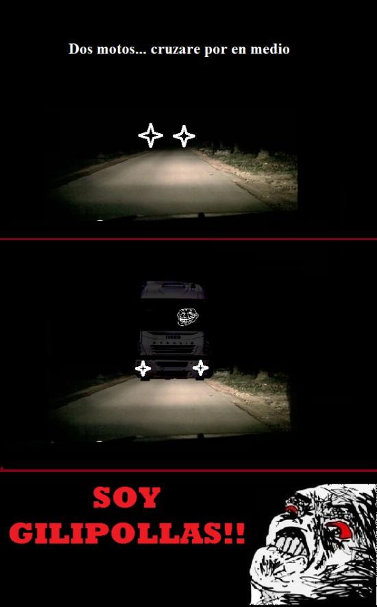 Inglip - Por la noche en la carretera