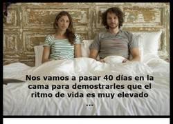 Enlace a 40 Días en la cama