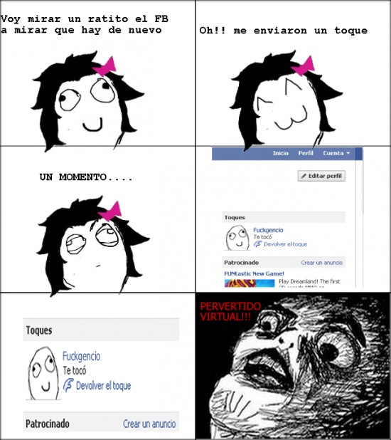 Inglip - Facebook Pervertido