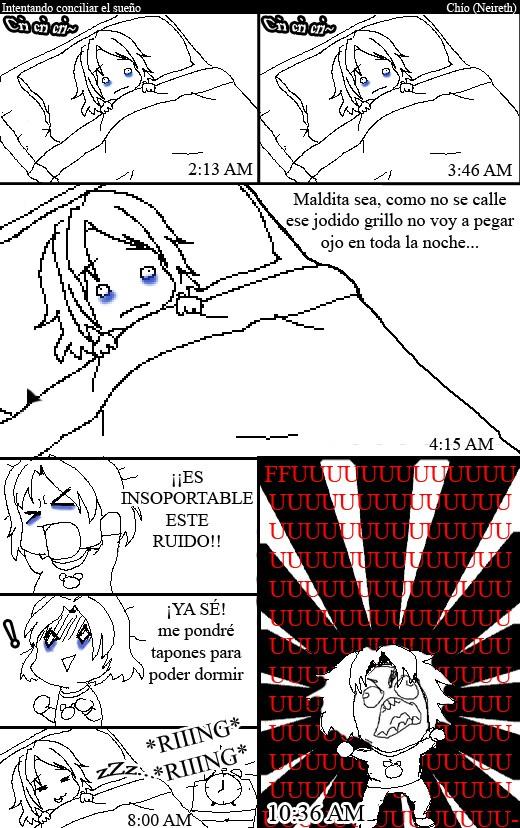 Ffffuuuuuuuuuu - Intentando conciliar el sueño