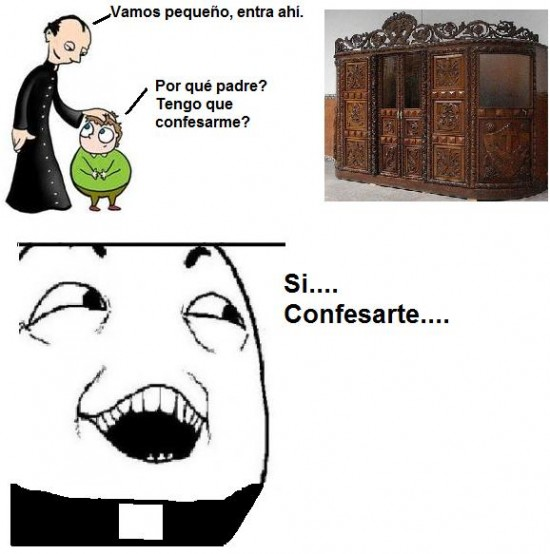 confesar,iglesia,padre,sí claro