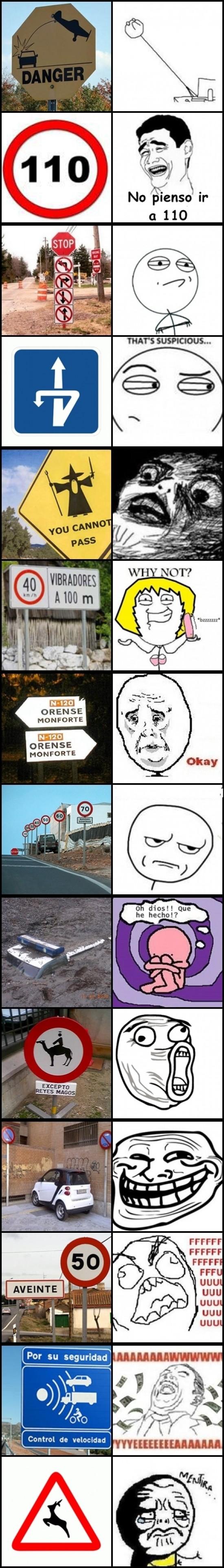 Mix - ¿Qué piensan de las señales de tráfico?