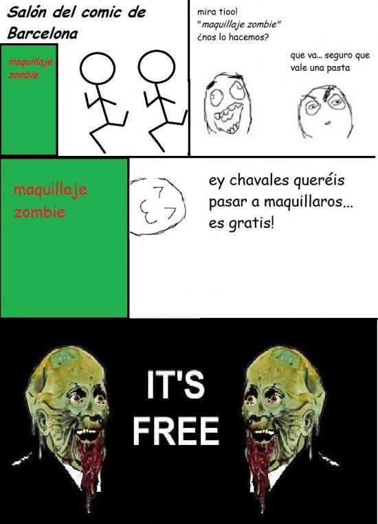 Its_free - Maquillaje zombi