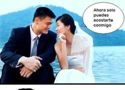 Enlace a Yao Ming se ha casado