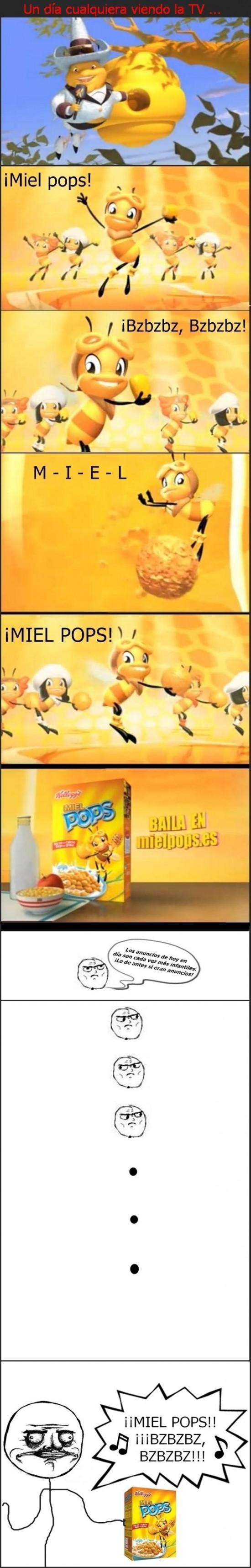 anuncio,cereales,me gusta,mielpops