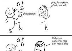 Enlace a Reggaeton con clase