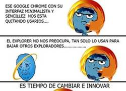 Enlace a Chorme vs Mozilla