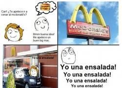 Enlace a ¿Ensalada en el McDonalds?