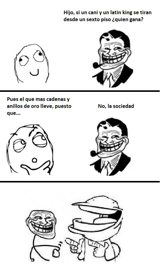 Trollface - Gravedad 0