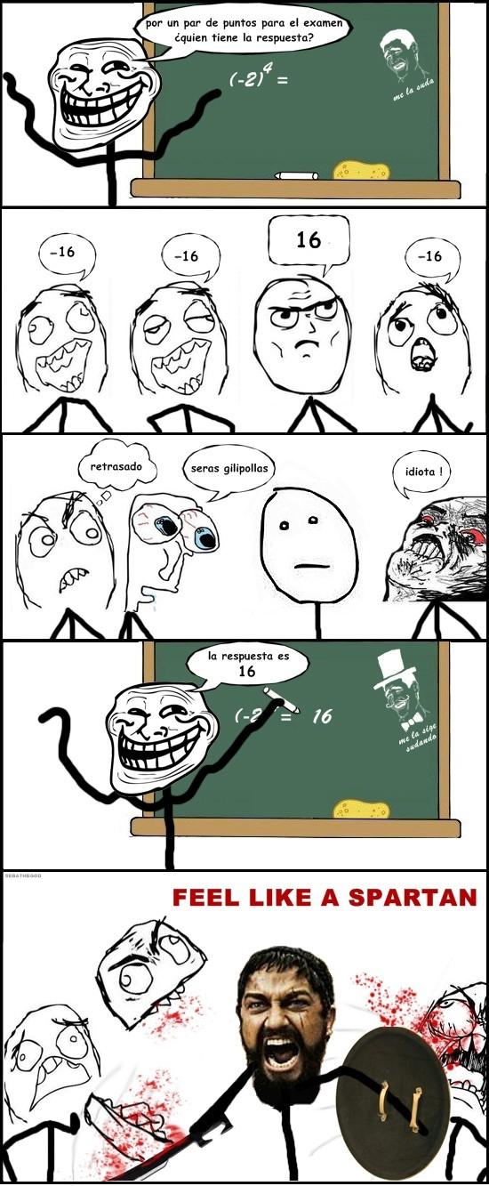estudiantes,feel like,profesor,spartan,troll