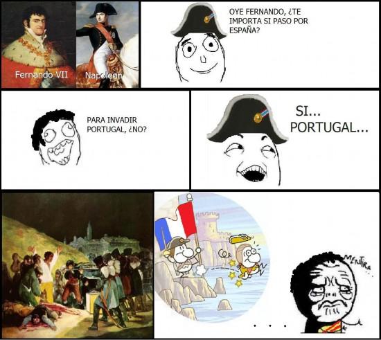 Mentira - Sí... Portugal...