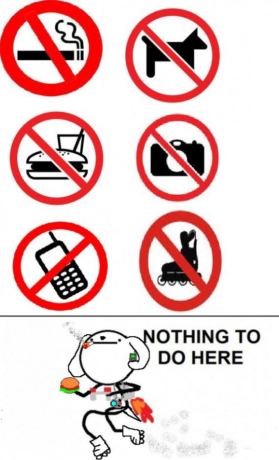 Nothing_to_do_here - Prohibiciones
